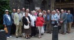 Our group at Westminster Abbey