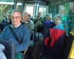 Selborne Wakes in bus