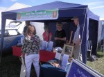 The Friends marquee at Romsey Show