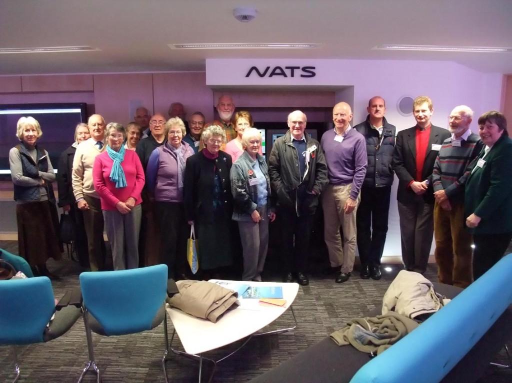 Group photo at NATS