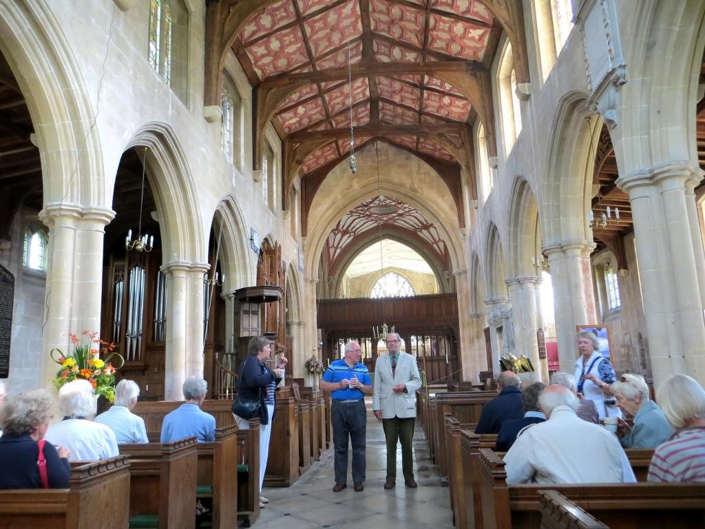 FRA guided tour of Edington Priory