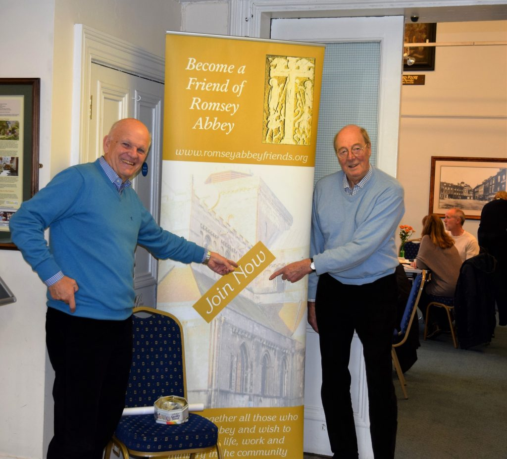 Friends Coffee Morning - Ken Gibson and John Twigg - Image KG - 20.11.2015
