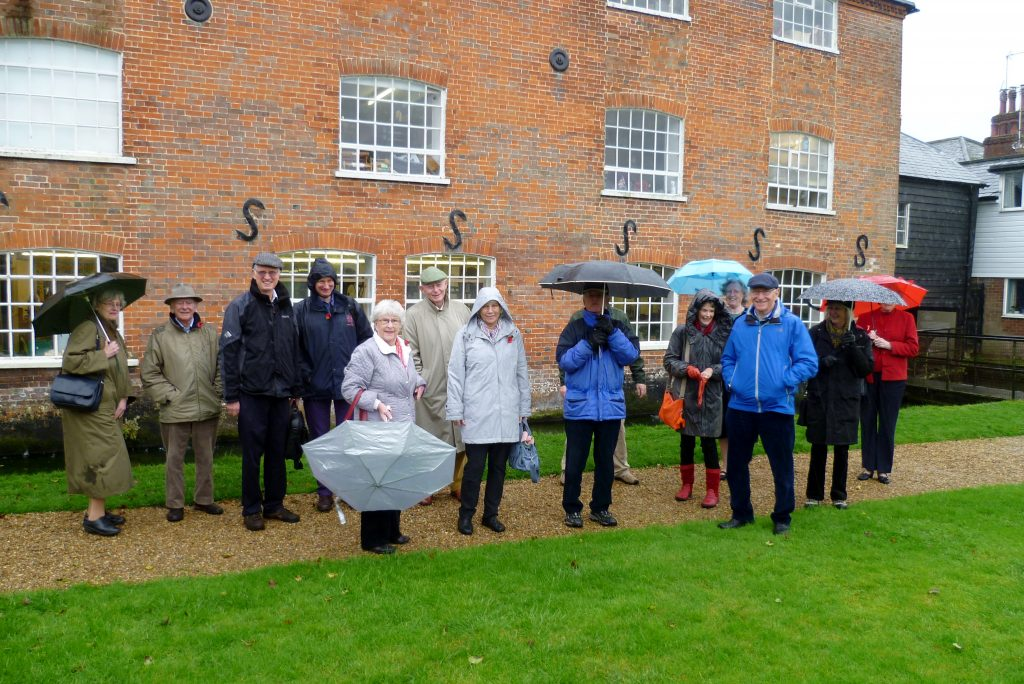 Friends trip to Whitchurch Silk Mill in the rain! - Image KG -11.11.2014