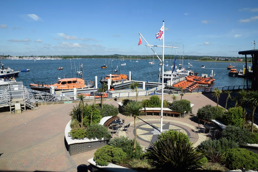 Friends trip to the RNLI Poole - Boat training area - Image KG -16.05.2016