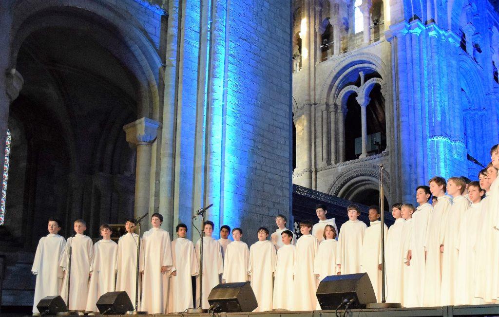 Romsey Abbey - Music in Romsey - Libera Choir Concert - Image KG - 23.04.2016