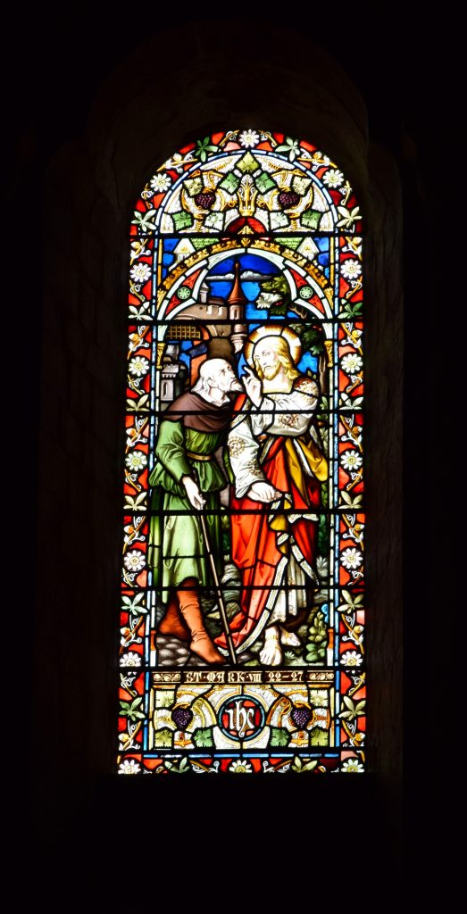 Romsey Abbey South Garth window - Image KG - 18.11.2015